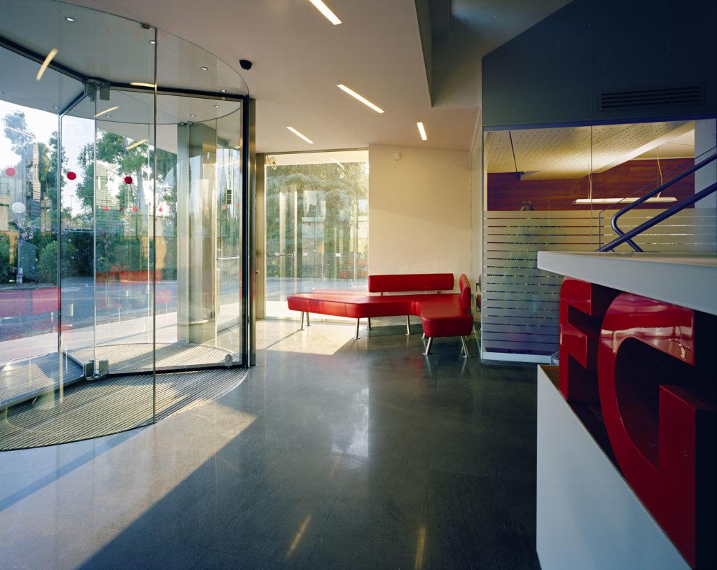 Waferstudio architetti binarelli de conca marinaro for Temporary office roma