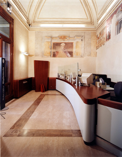 Campidoglio in Rome, Museum Ticket office
