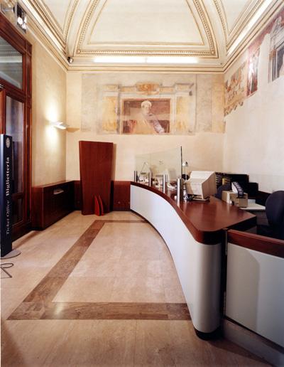 Campidoglio in Rome, Museum Ticket office